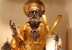Обои Статуэтка, скульптура, золото, oboitut, библия