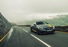 Обои AMG, Mercedes-Benz, C-Class, Coupe, C205, мерседес