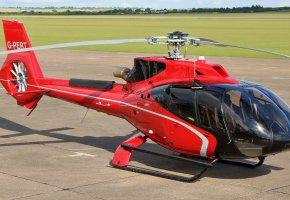 Обои Airbus, EC130 T2, одномоторный, лёгкий, вертолёт