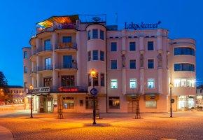 Обои Словения, Крань, Kranj, Крайнбург, здание, улица, подсветка