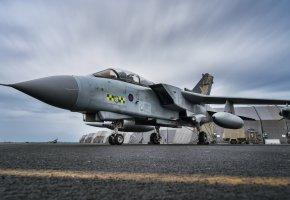 Обои Tornado, GR4, самолёт, оружие, армия