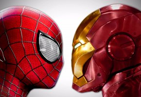 ���� Spider Man, Peter Parker, Iron Man, Tony Stark, ���, comics, marvel