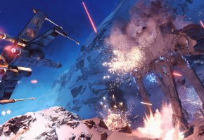 Обои Star Wars, Battlefront, Game, EA, Electronic Arts, Танк