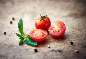 Обои помидоры, томаты, перец, макро