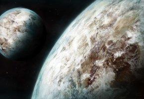 Обои Планеты, Космос, Space, звезды