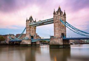 Обои река, Лондон, Тауэрский мост, темза