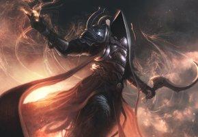 Обои rpg, archangel of death, Diablo 3, рпг, архангел, диабло