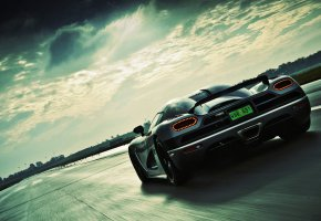 Обои авто, суперкар, дорога, скорость, автомобиль