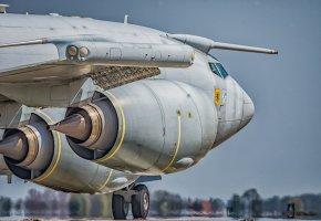 Обои AWACS E3, aeroplane, RAF, самолет, турбины, шасси