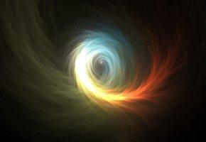 Обои звёзды, вихревые потоки, вселенная, пустота, вакуум