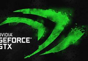 Обои заставка, nvidia, логотип, GTX, GeForce