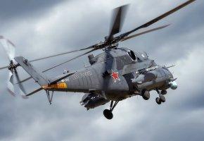 Обои оружие, Mi-35, вертолёт, ВВС, пропеллер