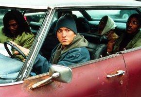 Обои rap, Eminem, 8 миля, hip-hop, машина