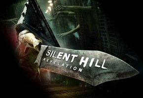 Обои Silent Hill, monster, hand, Revelation, sword