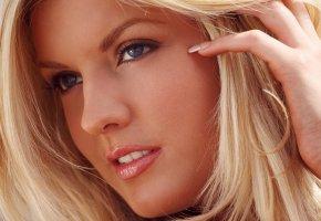 Обои Beautiful, girls, Девушка, лицо, блондинка, губки, глаза, wallpapers