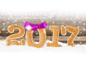 Обои новый год, 2017, праздник, снег