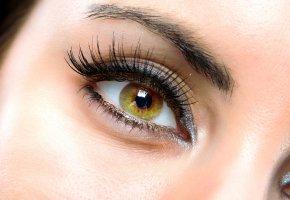 Обои woman, eyes, девушка, глаз, веки, макро