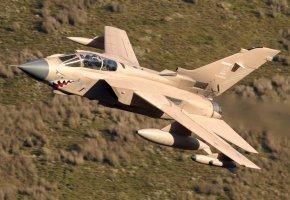 Обои истребитель, полет, бомбардировщик, Panavia, Tornado