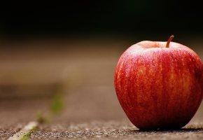 Обои Яблоко, спелое, фрукт, вкусно