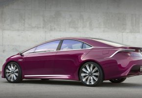 Обои Hybrid, NS4, Toyota, concept, Тойота, Гибрид