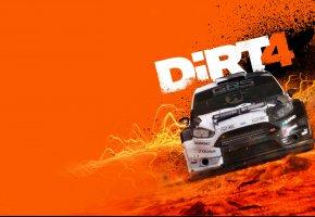 Обои DiRT 4, Ford, Game, Car, игра, форд