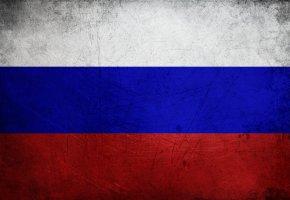 Обои Флаг, white, russian, blue, red, flag, белый, синий, красный, Россия