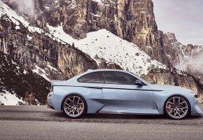 Обои Hommage, суперкар, 2002, бмв, хоммадж, концепт, Concept, BMW