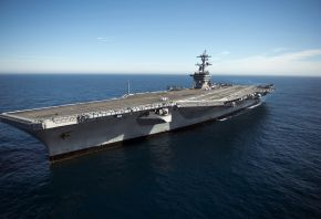 aircraft carrier, USS Carl Vinson, корабль, оружие