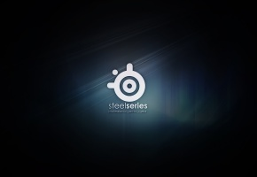 Steelseries, стил сириес, логотип, значок, фон