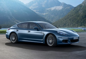 Porsche, Panamera, Diesel, 2014, Германия, Germany