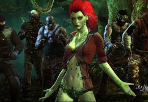 Batman, Arkham City, Rocksteady Studios, Warner Bros. Interactive Entertainment, Poison Ivy, Pamela Isley, botanist, бандит