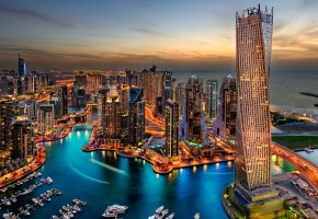Обои Dubai, city, skyscrapers, дубаи, дома, здания