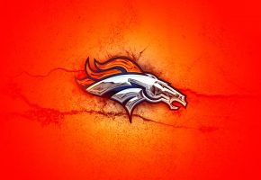 Обои Orange, Denver Broncos, Wallpaper, денвер бронкос, логотип, фон