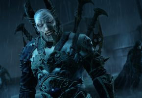 Обои Middle-earth: Shadow of Mordor, Black Captain, Orc, Armor, Monolith Productions