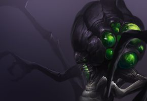 Обои Abathur, Heroes of the Storm, moba, art, starcraft