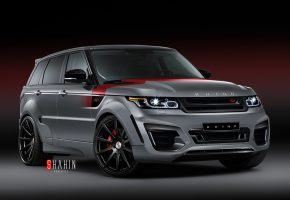 Обои 2015, Range Rover, Sport, RHINO SS, рендж ровер