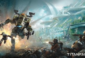 Обои Титанфал 2, 2016, шутер, игра, PlayStation 4, Xbox One, Titanfall 2, shooter, война, робот