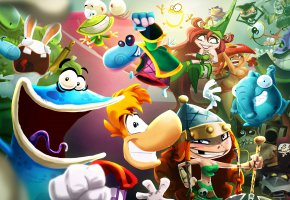 Обои hemet, Rayman, Rayman Legends, skull, game