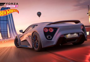 Обои car, game, race, speed, crossover, Forza Horizon, Hot Wheels, Forza Horizon 3