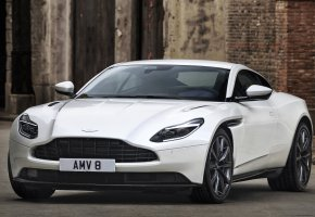 Обои Aston Martin, DB11, White, авто, астон мартин, белый