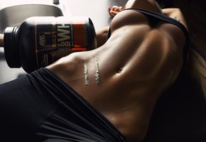 Обои tanned, sixpack, tits, shirt, fitness, sixpack, beautifull, brunette, perfect