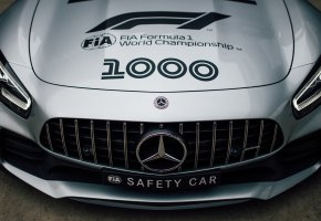 Обои Mercedes-Benz, перед, Formula 1, AMG, Safety Car, GT R, 2019