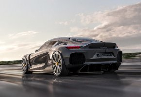 Обои Koenigsegg, 2021, front view, luxury, supercar